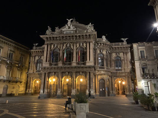 Italien, Sizilien, Theater, Teatro Massimo Bellini, Catania, Sehenswürdigkeit