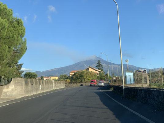 Italien, Sizilien, Vulkan, Ätna, Sehenswürdigkeit, Catania, Rauch