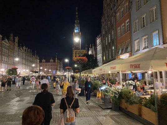 Danzig, Langer Markt, Fußgängerzone