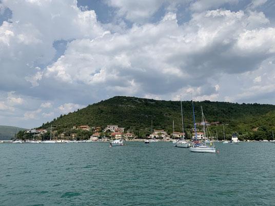 Kroatien, Istrien, Trget Fjord