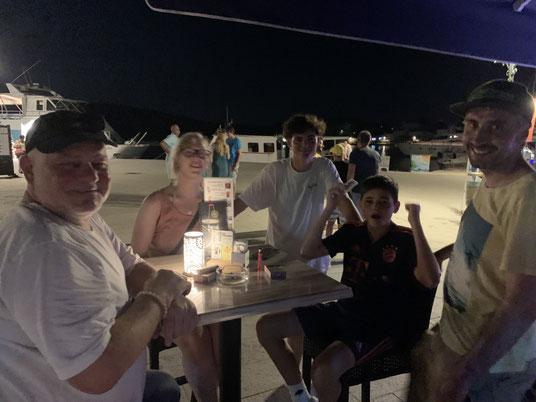 Kroatien, Cres, Crew