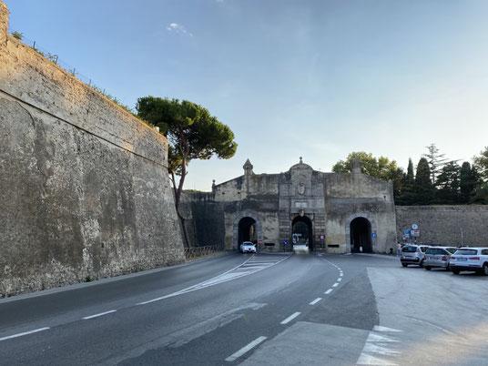Orbetello, Lagune, Stadttor, Porta Medina