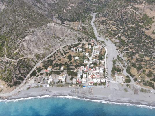 Griechenland, Kreta, Sehenswürdigkeit, Reisebericht, highlight, Urlaub, Sougia, Strand, Zentrum