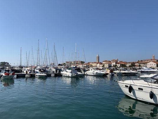 Kroatien, Rab, Marina, segeln
