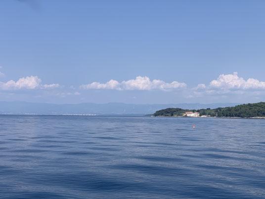 Kroatien, Krk, Segeln, Nordspitze