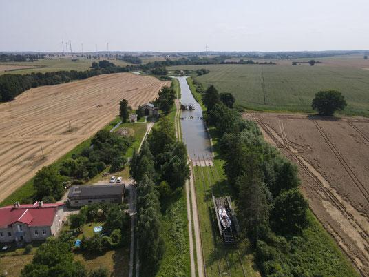 Polen, Danzig, Elbing, Elblag Kanal, Pochylnia Jelenie
