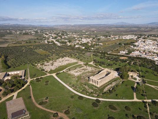 Italien, Sizilien, Sehenswürdigkeit, Selinunt, Selinunte, Tempel E, F, G