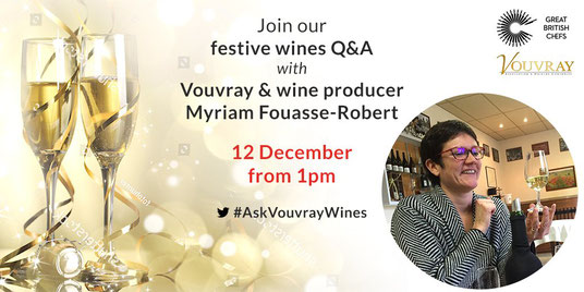 promoting-Vouvray-white-still-sparkling-wines-Loire-Valley-with-Great-British-Chefs-London-Christmas-recipes-Myriam-Fouasse-Robert-Rendez-Vous-dans-les-Vignes
