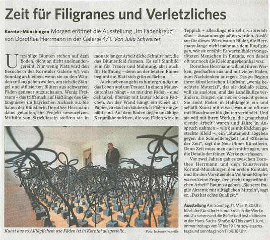 Stuttgarter Zeitung / Strohgäu Extra 10.05.2014