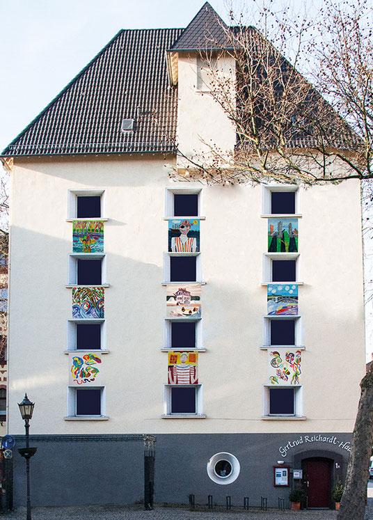 die Heimat der MALzeitler, eine Malgruppe der Diakoniewerk Duisburg GmbH, Fachbereich Sozialpsychiatrie