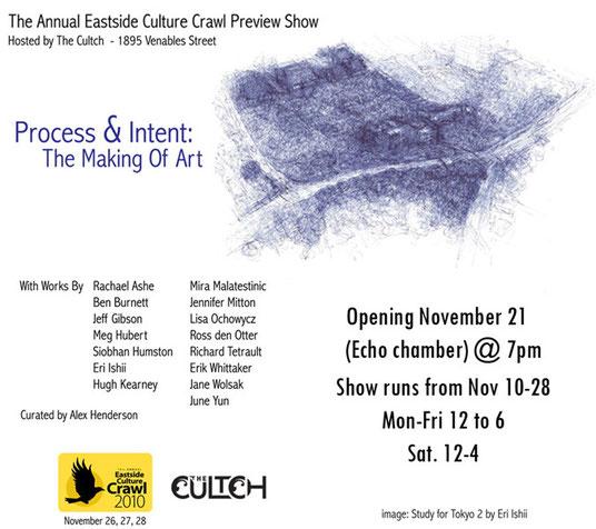 Process & Intent: The Making of Art / 过程和意图 – 制做艺术