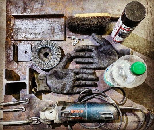 Werkstatt Utensilien Möbelloft