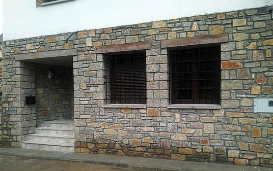 Piedra mampostería - fachada de piedra