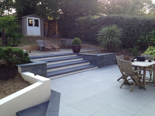 jardins et terrasses nantes cr ateur de jardin nantes. Black Bedroom Furniture Sets. Home Design Ideas