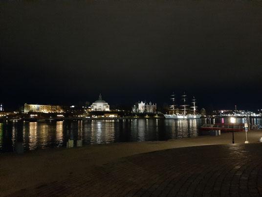 Stockholm bei Nacht (Foto: R. Clasen)
