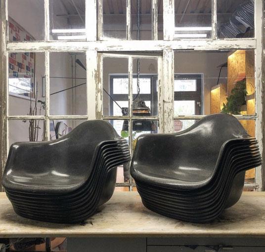 Eames FIberglass Armchair, Eames, Armchair, Rare, Herman Miller, Vitra, Charles Eames