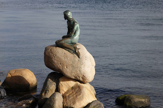 The Little Mermaid in Copenhagen, Statue in Denmark