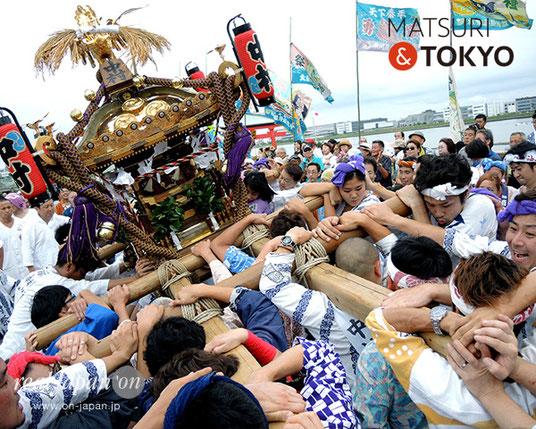 羽田神社夏季例大祭 @2017.07.30, 中村 町会