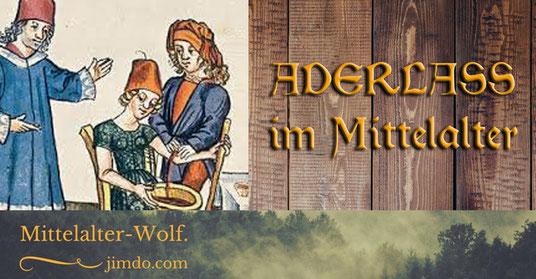 Aderlass im Mittelalter _ mittelalterlicher Aderlass