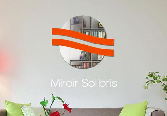 Miroir acrylique PMMA & support bois ou plexiglas