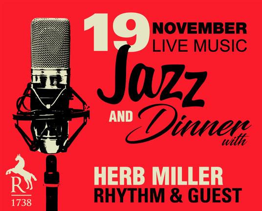Jazz & Dinner mit Herb Miller