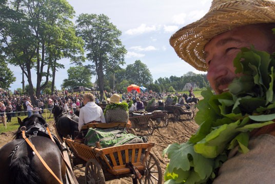 Žygis iš Luokės į Niūronis žemaitukais tradiciniais kinkiniais 2019 - Stalnionytė