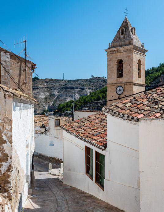 Blick auf die Kirche San Andrés