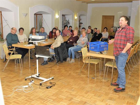 Vortrag Bäume und Sträucher mit Stefan Ege