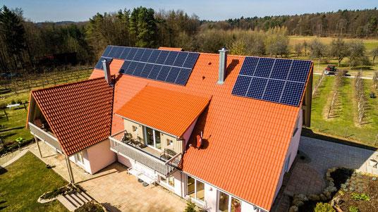 Solaranlage mit Speicher in Bayern