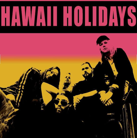 "Hawaii Holidays starts the new year with the single and video ""Liquid Love"", rockers and other animals, valeria campagnale, rock news, rock webzine"