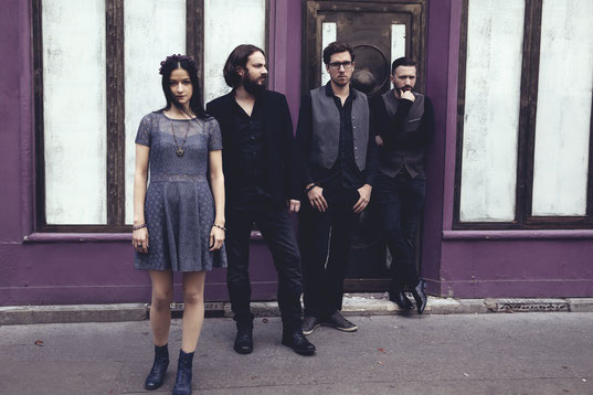 French/Ukrainian Alternative rockers Venice May re-released worldwide and streamed new album 'Illusion Is Inevitable', rockers and other animals, rock news