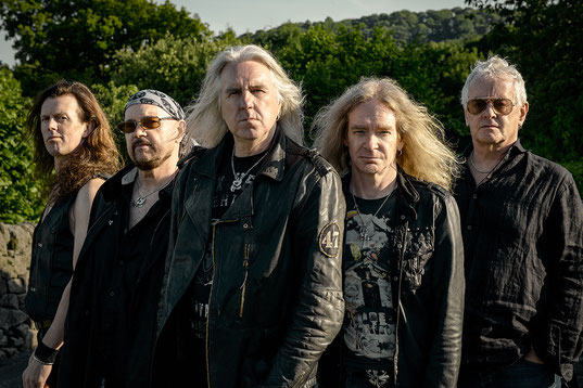 Saxon announce 40th Anniversary Castles & Eagles Tour