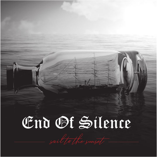 "End Of Silence Sign With Wormholedeath And Announce ""Sail To The Sunset"" Album Release Date, cover, metal new, rockers and other animals"
