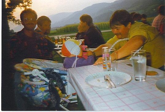Fliegerlager in Trieben (A) im August 1993  (Foto: Privat)