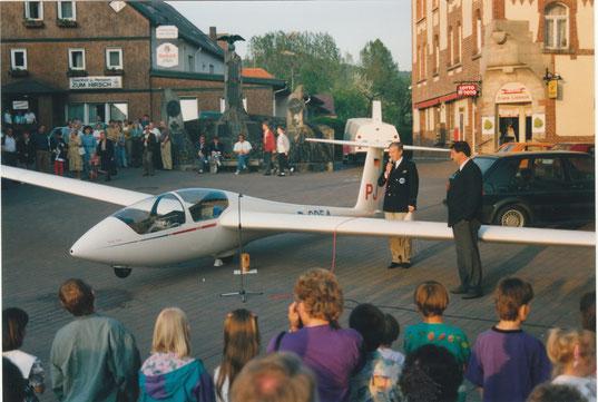 Flugzeugtaufe ASK - 21  (Foto: Privat)
