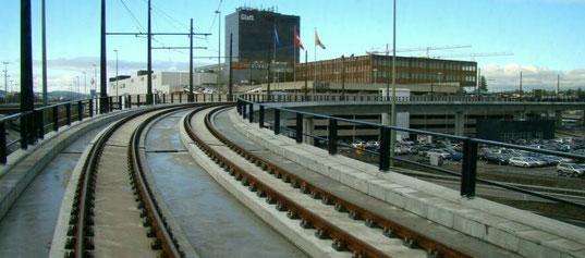 Der Tram-Viadukt bei Wallisellen.