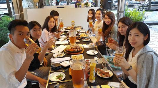 スタッフ会食2015年7月31日