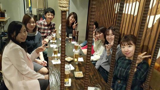 2015年5月現在の日本人インターンの皆様です。常時7名~15名の日本人インターンが勤めています。
