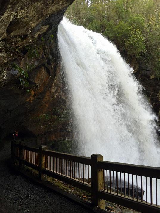 Dry Falls in der Nähe von Highlands