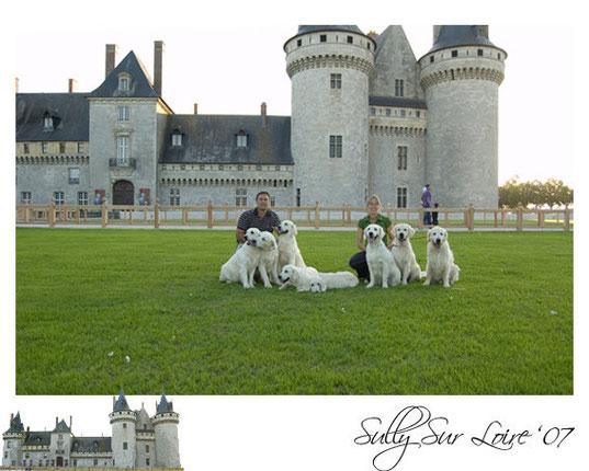 Heraldo de Gaia y Thevenet en la Monográfica de Sully sur Loire (Francia)