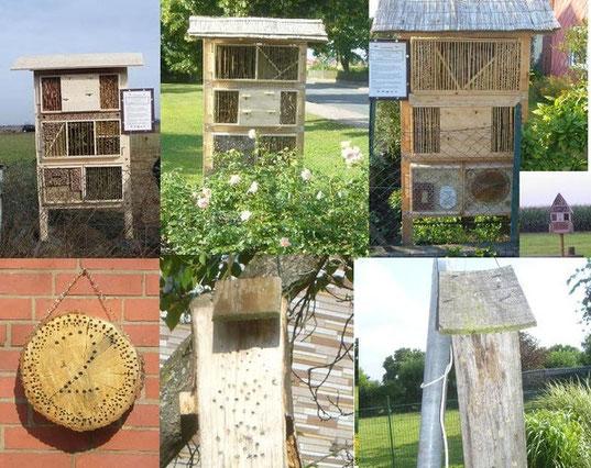 Insektenhotel Rehren