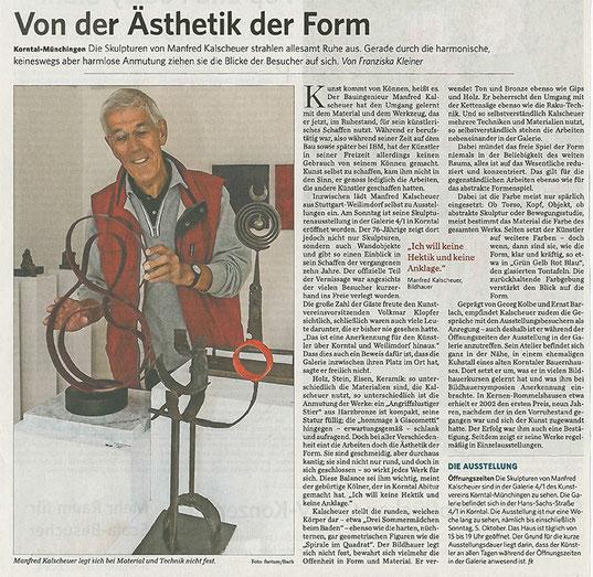 Stuttgarter Zeitung/Strohgäu Extra 29.09.2014