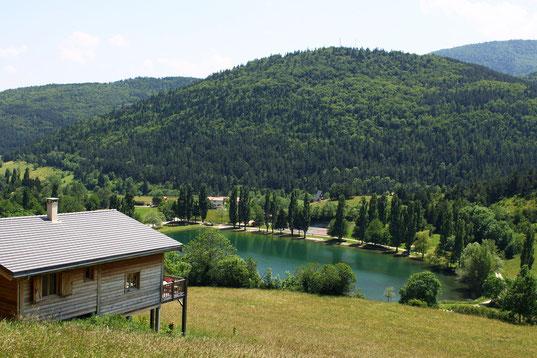 Lac de Belcaire - Sentier Pic des Rives - Rando Pyrénées Audoises