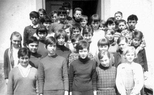 Bild: Teichler Schulklasse Wünschendorf  1970