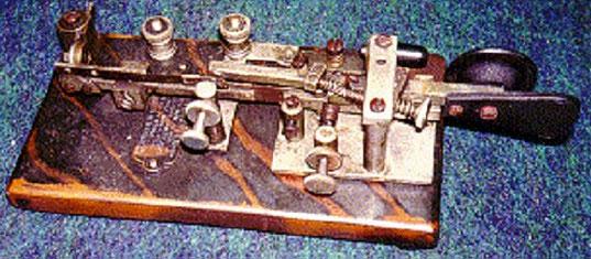 Vibroplex Model-X con finitura Tigerstripe, esclusiva Mecograph.  Prop. K1BH Billy Holy