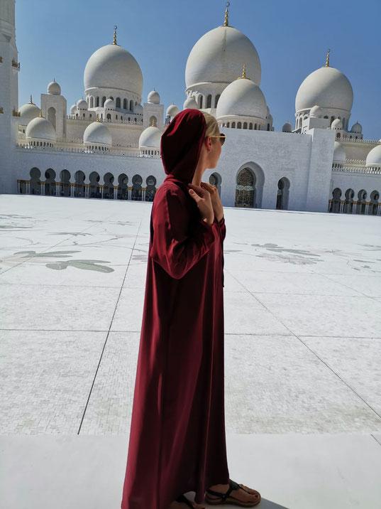 Scheikh-Zayid-Moschee in Abu Dhabi