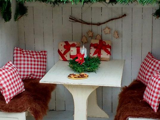 Weihnachtsminiaturen basteln