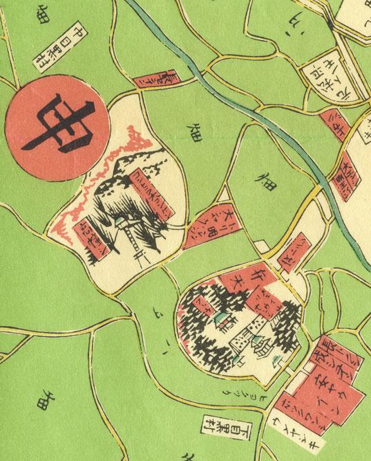 明治2年東京御絵図(官版)