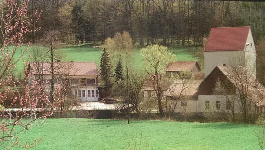 Die Talmühle Haas in Rosenberg