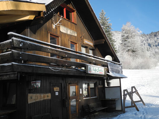 Talstation Skilift Hofeck mit Liftstüble und Ferienwohnung